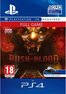 Until Dawn: Rush Of Blood VR